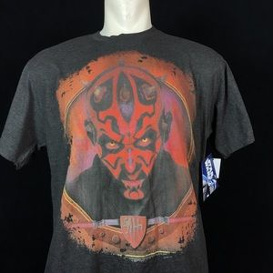 Star Wars Darth Maul Phantom Menace Sith Tshirt L